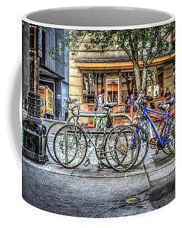 Seattle Bicycles Coffee Mug by Spencer McDonald