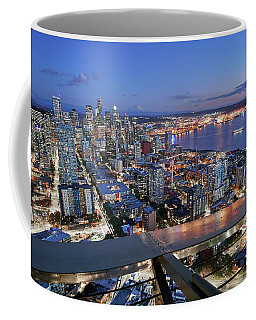 Seattle From The Space Needle Coffee Mug