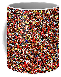 Seattle Gum Wall 2 Coffee Mug by Allen Beatty