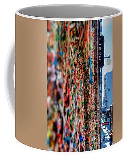 Seattle Gum Wall Coffee Mug by Spencer McDonald