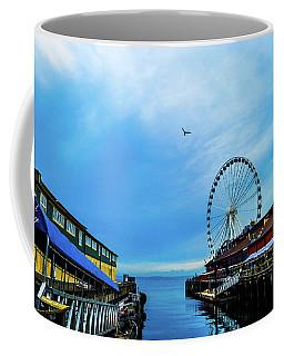 Seattle Pier 57 Coffee Mug