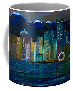 Seattle Skyiline Coffee Mug