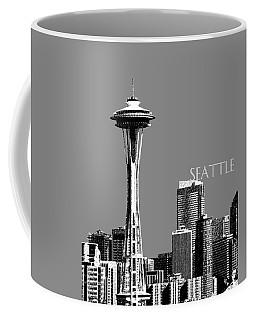 Seattle Skyline Space Needle - Pewter Coffee Mug