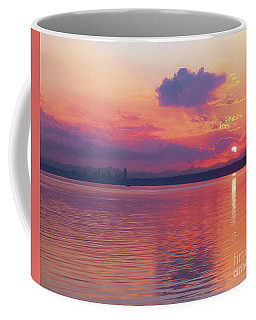 Seattle Skyline - Sunrise Coffee Mug