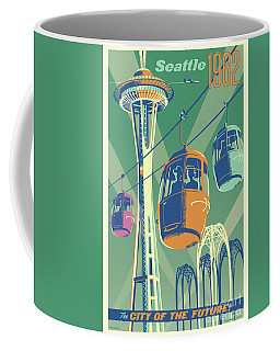 Seattle Space Needle 1962 - Alternate Coffee Mug