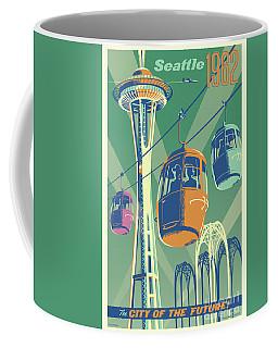 Seattle Space Needle 1962 - Alternate Coffee Mug