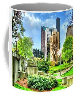 Seattle Spring Fine Art Print Coffee Mug by Greg Sigrist