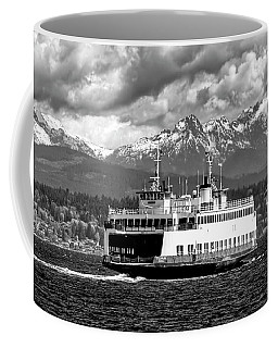 Seattle To Bremerton Ferry Coffee Mug by Greg Sigrist