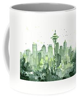 Seattle Watercolor Coffee Mug