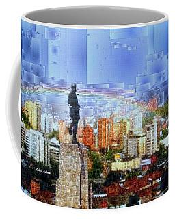 Coffee Mug featuring the digital art Sebastian De Belalcazar by Rafael Salazar