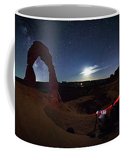 Seclusion At Delicate Arch Coffee Mug