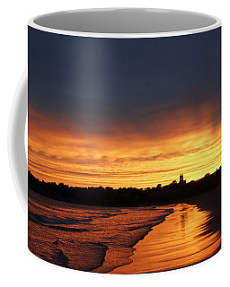 Second Beach Newport Ri Sunrays Coffee Mug