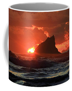 Second Beach Shark Coffee Mug