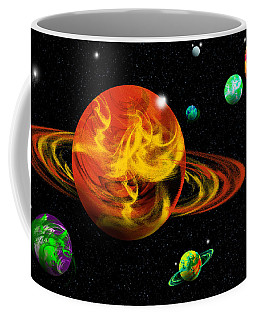 Secondary Space Frontier Coffee Mug by Samantha Thome
