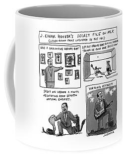 Secret Fbi File On Mlk Coffee Mug