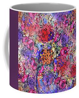 Secret Garden Flowers Coffee Mug