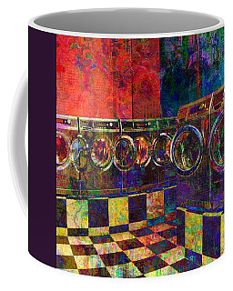 Secret Life Of Laundromats Coffee Mug