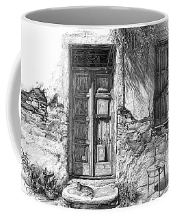 Secret Of The Closed Doors Coffee Mug