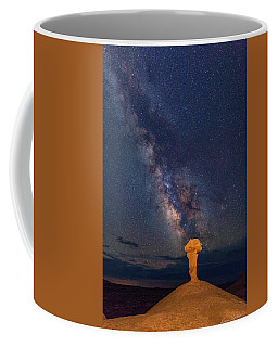 Secret Spire And The Milky Way Vertical Coffee Mug