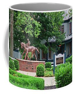 Secretariat Statue At The Kentucky Horse Park Coffee Mug