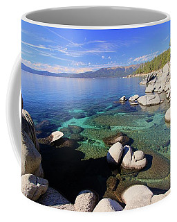 Secrets Of Her Soul Coffee Mug by Sean Sarsfield