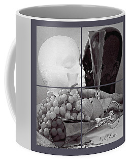 Coffee Mug featuring the photograph Sections by Elf Evans