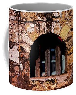 Secured--the Alamo Coffee Mug
