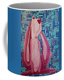 Security Blanket Bunny Coffee Mug