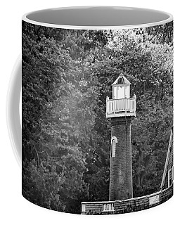 Coffee Mug featuring the photograph Sedgely Club - Turtle Rock Lighthouse by Bill Cannon
