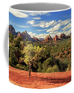 Coffee Mug featuring the photograph Sedona Afternoon by James Eddy
