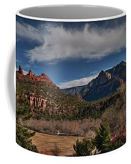 Coffee Mug featuring the photograph Sedona Arizona 001 by Lance Vaughn