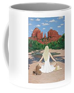 Sedona Breeze  Coffee Mug by Lance Headlee