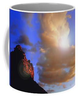 Sedona Mountain Cloud Sun Coffee Mug