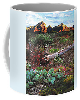 Sedona Mountain Sunrise Coffee Mug