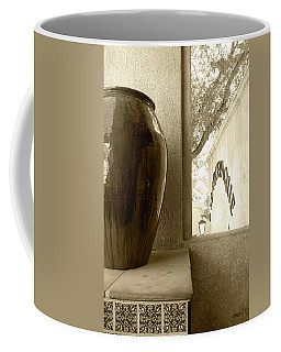 Coffee Mug featuring the photograph Sedona Series - Jug And Window by Ben and Raisa Gertsberg