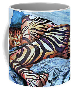 Seduction Of Stripes Coffee Mug