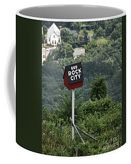 See Rock City Coffee Mug