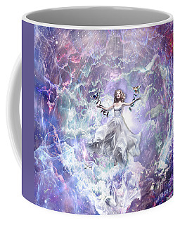 Coffee Mug featuring the digital art Seek And You Shall Find by Dolores Develde