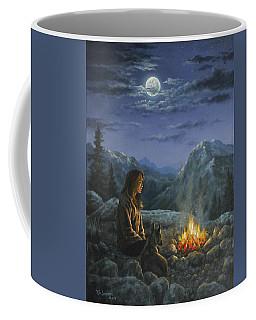 Seeking Solace Coffee Mug by Kim Lockman
