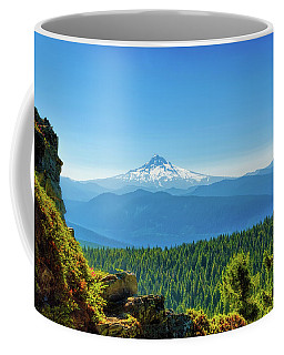 Mt Hood Seen From Beyond Coffee Mug