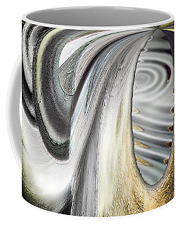 Coffee Mug featuring the digital art Seen In Stone by Wendy J St Christopher