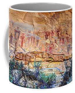 Sego Canyon Indian Petroglyphs And Pictographs Coffee Mug