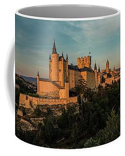 Segovia Alcazar And Cathedral Golden Hour Coffee Mug
