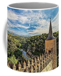Segovia Alcazar Parapet And Tower Coffee Mug