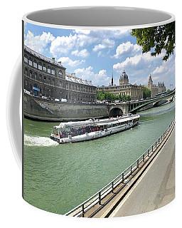 River Seine In Paris Coffee Mug