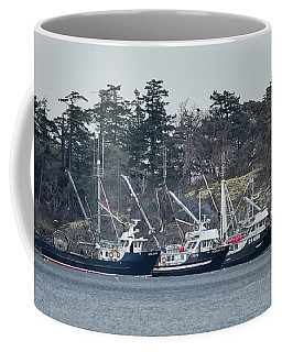 Coffee Mug featuring the photograph Seiners In Nw Bay by Randy Hall