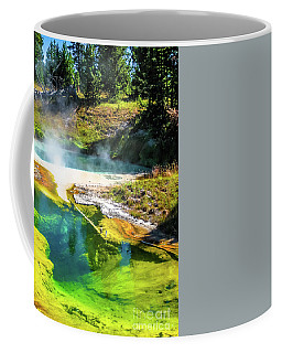 Seismograph Pool In Yellowstone Coffee Mug