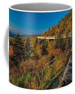 Seize The Day At Linn Cove Viaduct Autumn Coffee Mug