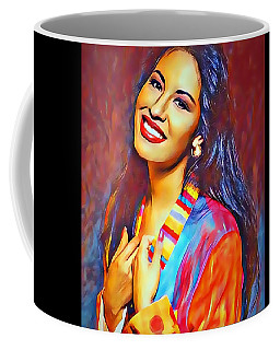 Selena Queen Of Tejano  Coffee Mug