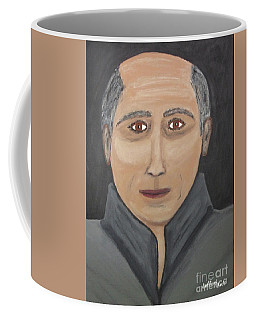 Coffee Mug featuring the painting Self by Jeffrey Koss